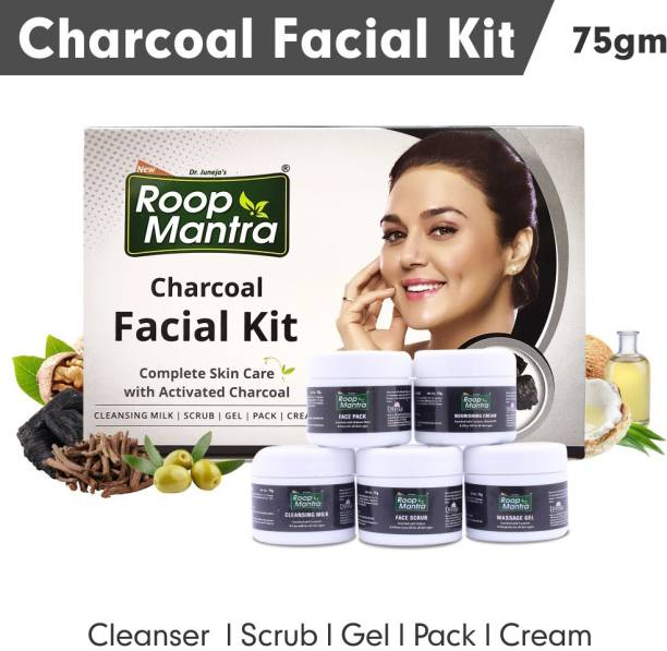 Roop Mantra Charcoal Facial Kit