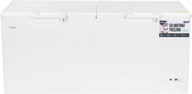 Haier 519 L Double Door Standard Deep Freezer