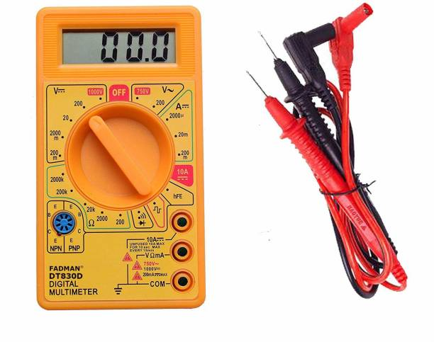 FADMAN not for professional use basic purpose current check Digital Multimeter