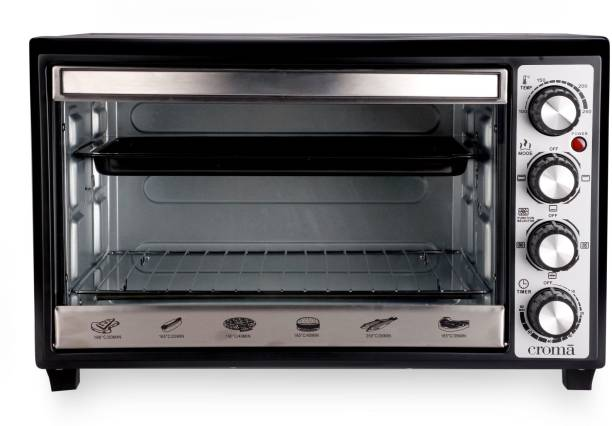 Croma 33-Litre CRAO0062 Oven Toaster Grill (OTG)
