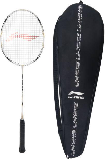 LI-NING SS 98 X Black, White, Gold Strung Badminton Racquet
