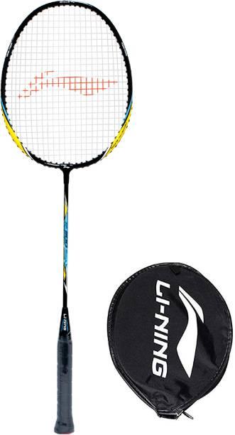 Li-Ning XP 800 - Srikanth Signature Series Black Orange Strung Badminton Racquet (Pack of: 1, 86 g)