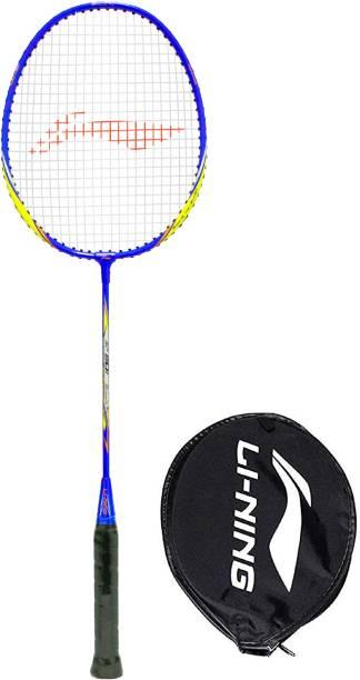 Li-Ning XP 801 - Srikanth Signature Series Yellow Blue Orange Badminton Racquet G4 - 8.25 cm (pack of 1,86 gm)