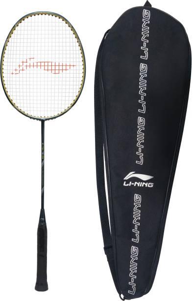 LI-NING G-TEK 78 GX Black, Orange, Silver Strung Badminton Racquet