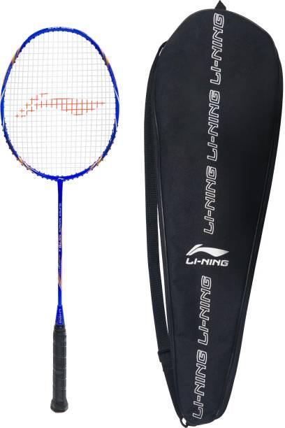 LI-NING SS 78 X White, Blue, Gold Strung Badminton Racquet