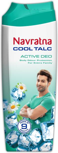 Navratna Active Deo Cool Talc