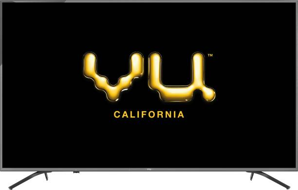Vu Premium Android 138 cm (55 inch) Ultra HD (4K) LED Smart Android TV with Cricket Mode