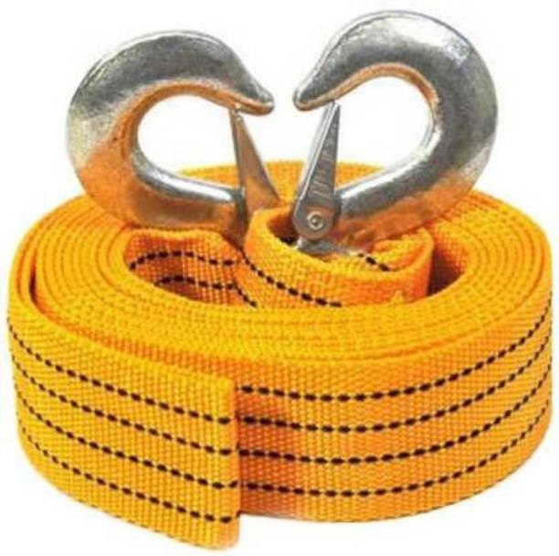 Ubod Heavy Duty Towing Rope Tow Strap With Safety Hooks 3 m Towing Cable (Polyresin, 3000 kg Pull Capacity) 3.5 m Towing Cable