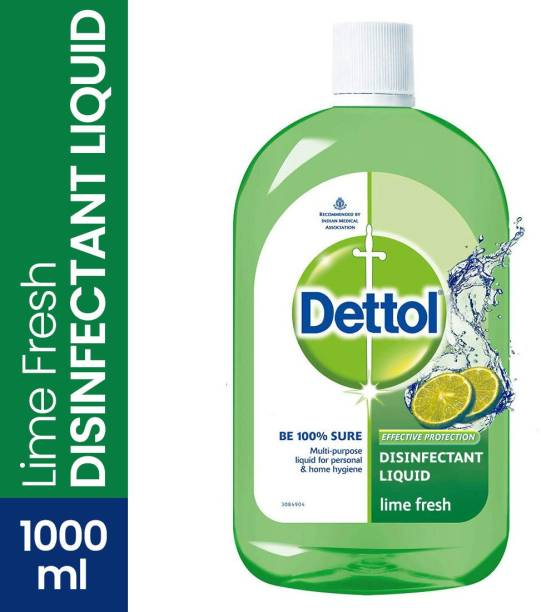 DETTOL Multipurpose Disinfectant liquid, Lime Fresh Antiseptic Liquid