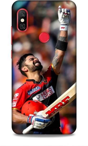 MAPPLE Back Cover for Redmi Note 6 Pro (Virat Kohli / IPL / Cricket / Team / RCB / Bangalore)