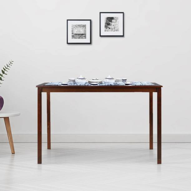 Hometown Stella Solid Wood 4 Seater Dining Table