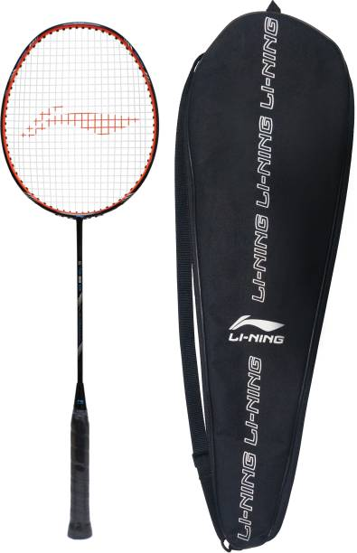 LI-NING G-TEK 88 GX Brown, Blue, Silver Strung Badminton Racquet