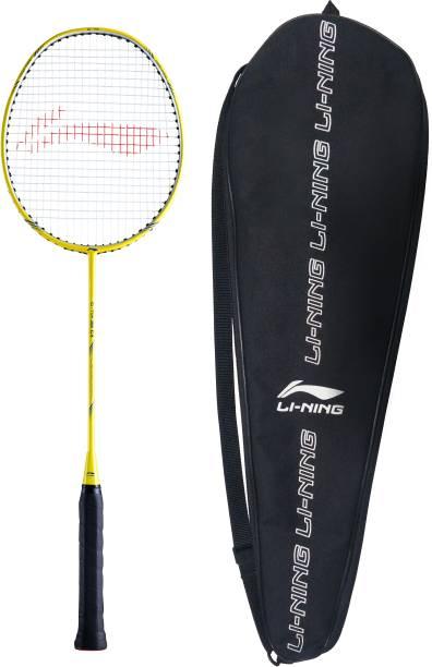 LI-NING G-TEK 38 GX Yellow, Blue Strung Badminton Racquet