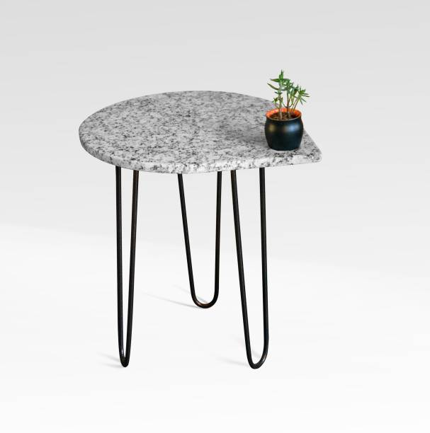 Constructs and spirits PEPPER Stone End Table