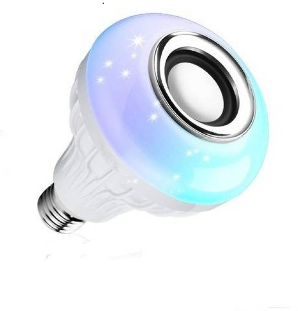 NAKSH CREATIONS Led Bulb with Bluetooth Speaker Music Light Bulb Smart Bulb