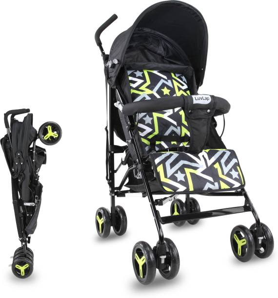 LuvLap Joy Buggy with compact folding - Printed Buggy