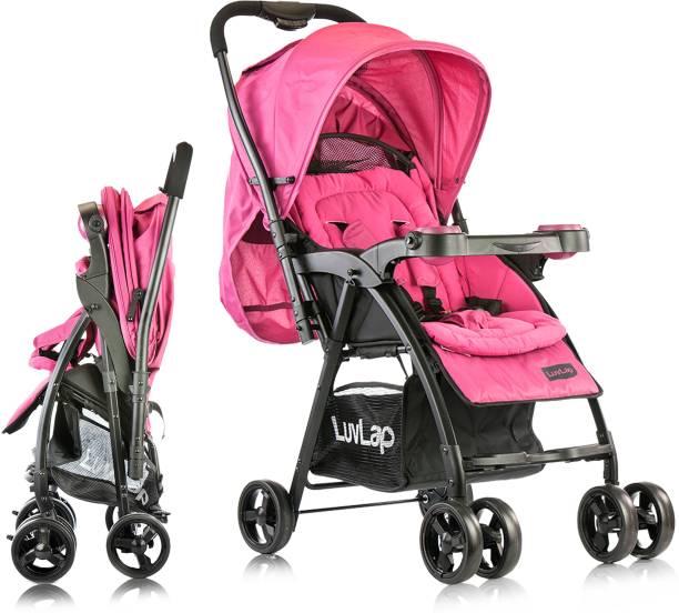 LuvLap Joy Baby Stroller - Purple Stroller