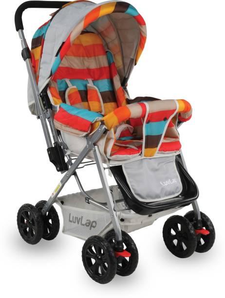 LuvLap Sunshine Baby Stroller - Stripes Stroller