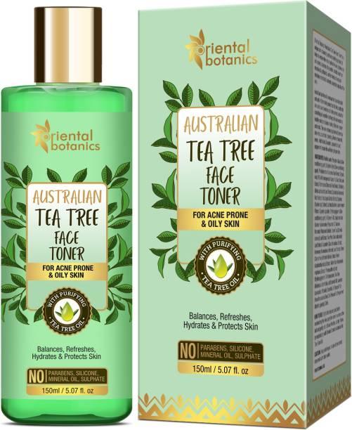 Oriental Botanics Australian Tea Tree Face Toner 150ml | No SLS, Alcohol and Paraben Men & Women
