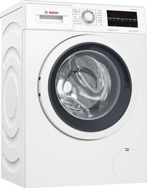 BOSCH 6.2 kg Fully Automatic Front Load with In-built Heater White