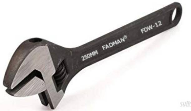 FADMAN ADJUSTABLE WRENCH SPANNER FDW-12-10INCH(2500MM) Single Sided Open End Wrench