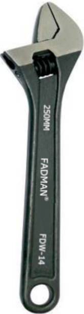 FADMAN ADJUSTABLE WRENCH SPANNER FDW-14-10INCH(2500MM) Single Sided Open End Wrench