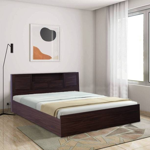 Hometown Bolton Engineered Wood Queen Box Bed