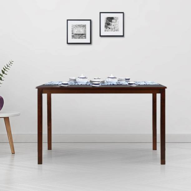 Hometown Stella Solid Wood 6 Seater Dining Table