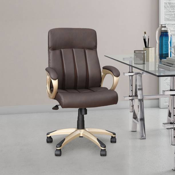 Hometown HENRY Leatherette Office Arm Chair