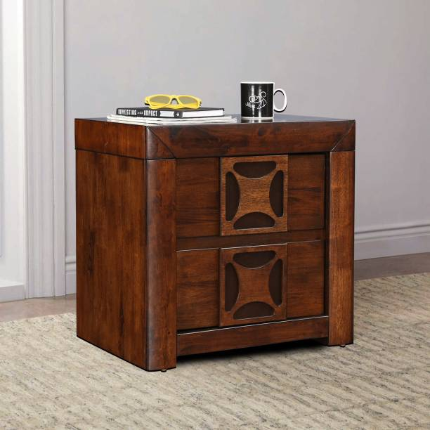 Hometown casablanca Solid Wood Bedside Table