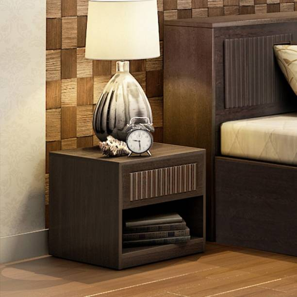 Hometown Tiago Engineered Wood Bedside Table