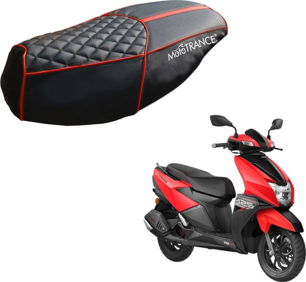 MOTOTRANCE SC36244 Single Bike Seat Cover For TVS NTorq 125