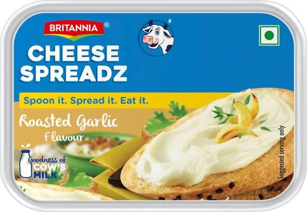 BRITANNIA Roasted Garlic Processed cheese Spread