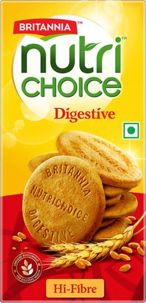 BRITANNIA NutriChoice Digestive High Fibre Biscuits