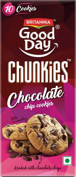 BRITANNIA Good Day Chunkies Biscuits Cookies