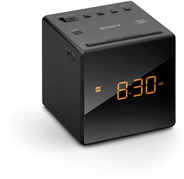 SONY ICF-C1 Digital Clock Radio (Black) FM Radio