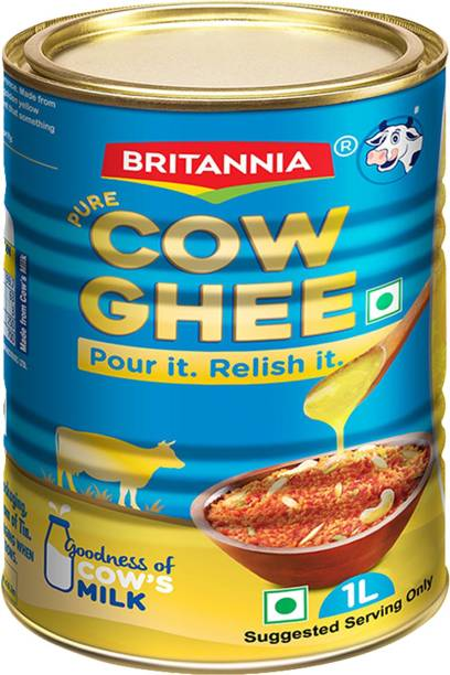 BRITANNIA Pure Cow Ghee 1 L Tin
