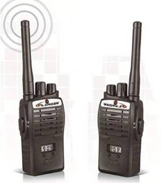 Tenmar 2 pcs Wireless Portable InterPhone Walkie Talkie with LCD Display