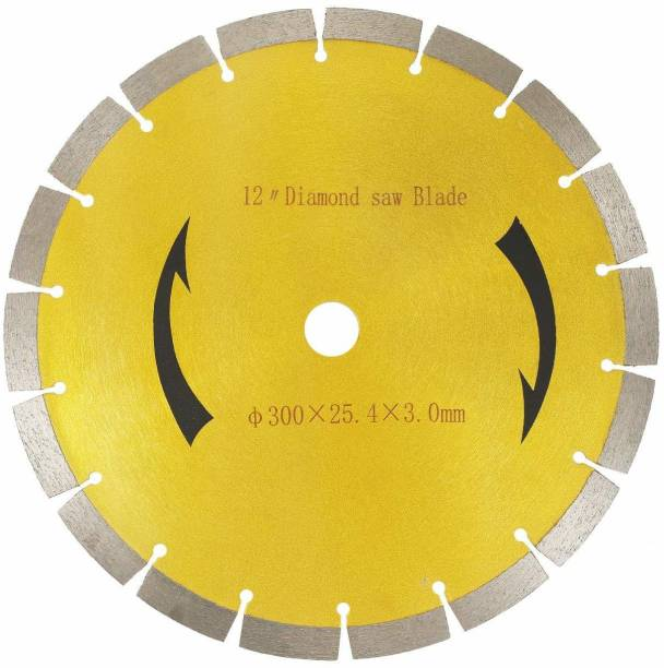 Sauran 12-Inch(300mm) Segmented Diamond blade for concrete,cemented road,granite,marble,block,tile etc Diamond Saw Blade for General Purpose Dry or Wet Cutting Pipe Cutter