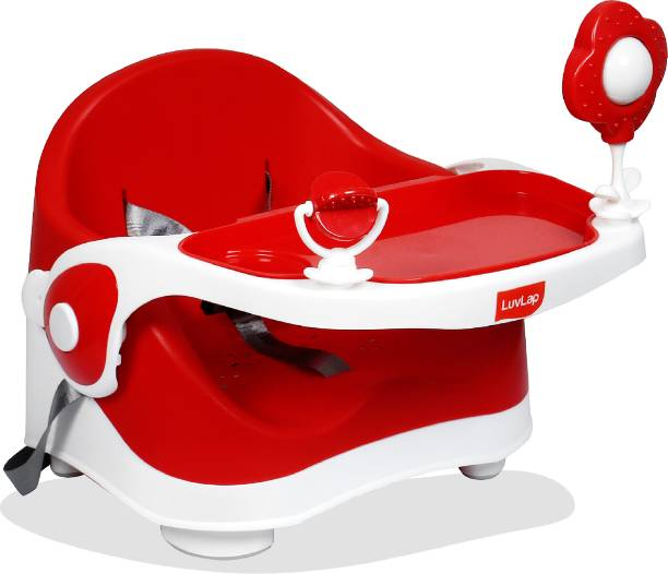 LuvLap Springdale 2 in 1 Feeding Chair & Booster Seat, Portable