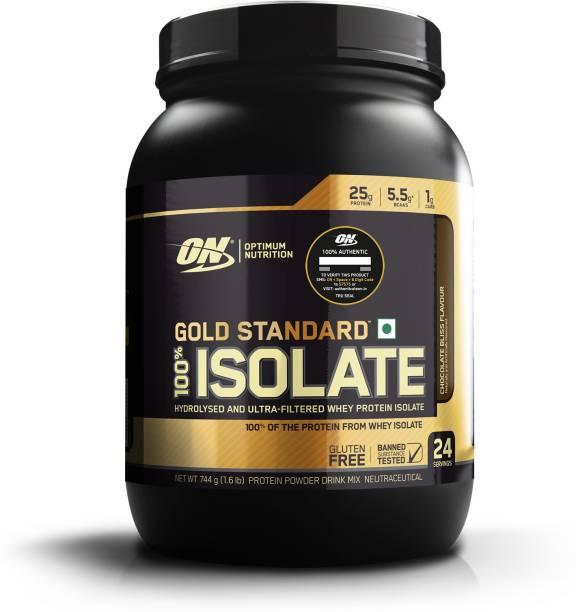 Optimum Nutrition (ON) Gold Standard 100% Isolate Protein Powder Whey Protein