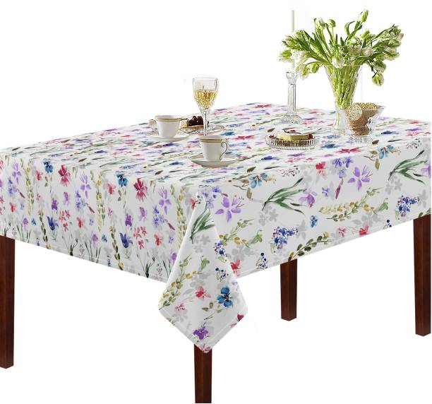 Oasis Floral 6 Seater Table Cover