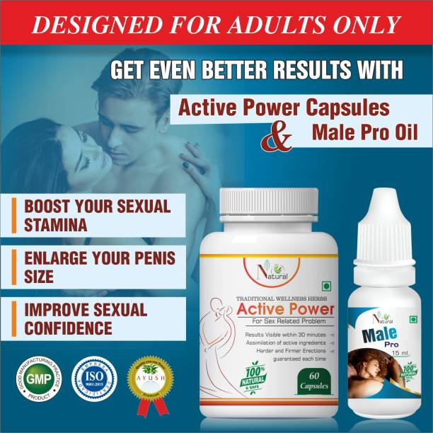 Natural Active Power Sexual Capsule, Male Pro Oil For Sexual Male Increase Your penis Size