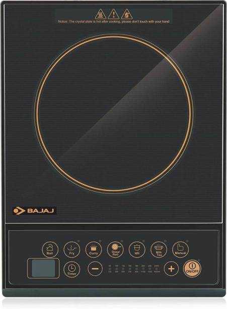 BAJAJ 130-ICX 1300Watts Instant Heat Best Quality Induction Cooktop