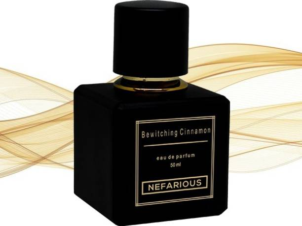 Nefarious Bewitching Cinnamon - fragrance with aromatic floral and precious amber & musk notes Perfume  -  50 ml