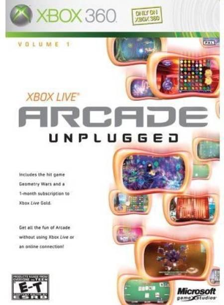 Live Arcade Unplugged