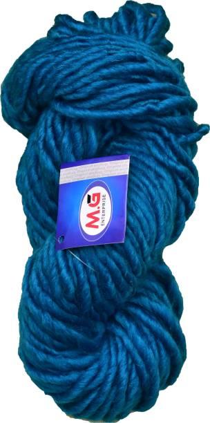 M.G Enterprise Knitting Yarn Medium Roving Knitting Yarn Thick Chunky Wool, Extra Soft Thick Morphankhi 200 gm Best Used with Knitting Needles, Crochet Needles Wool Yarn for Knitting.