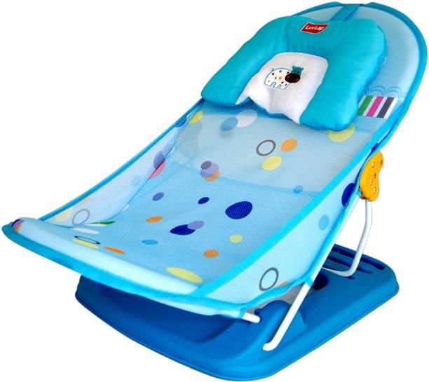 LuvLap Hippo Dippo Bather Baby Bath Seat