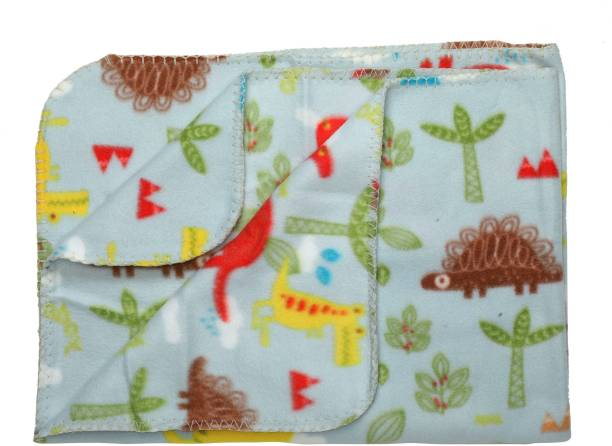 LuvLap Printed Crib Crib Baby Blanket