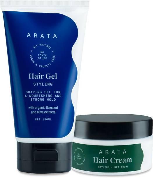 ARATA Hair Styling Combo Hair Cream